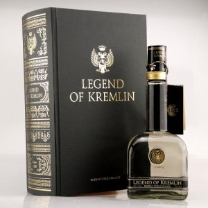 Legend of Kremlin Premium Vodka Exclusive Book Box 40% 0,7l