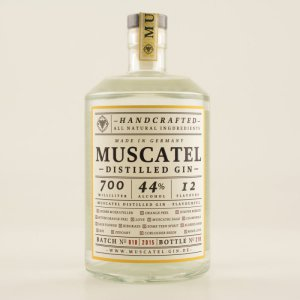 Muscatel Distilled Gin 44% 0,7l