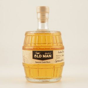 Restposten: OLD MAN Special Cask India/Pakistan White Wine Cask Rum 43,1% 0,5l