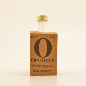 Opthimus 25 Jahre Whisky Finish Rum MINI 43% 0,05l