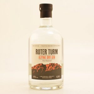 Roter Turm Alpine Dry Gin Pure Botanical 43% 0,5l