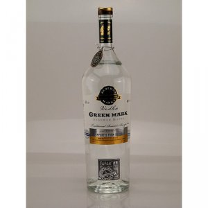 Vodka Green Mark Traditional 40% 1,0l