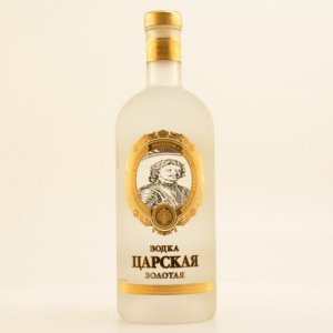 Zarskaya Gold Vodka 40% 1,0l