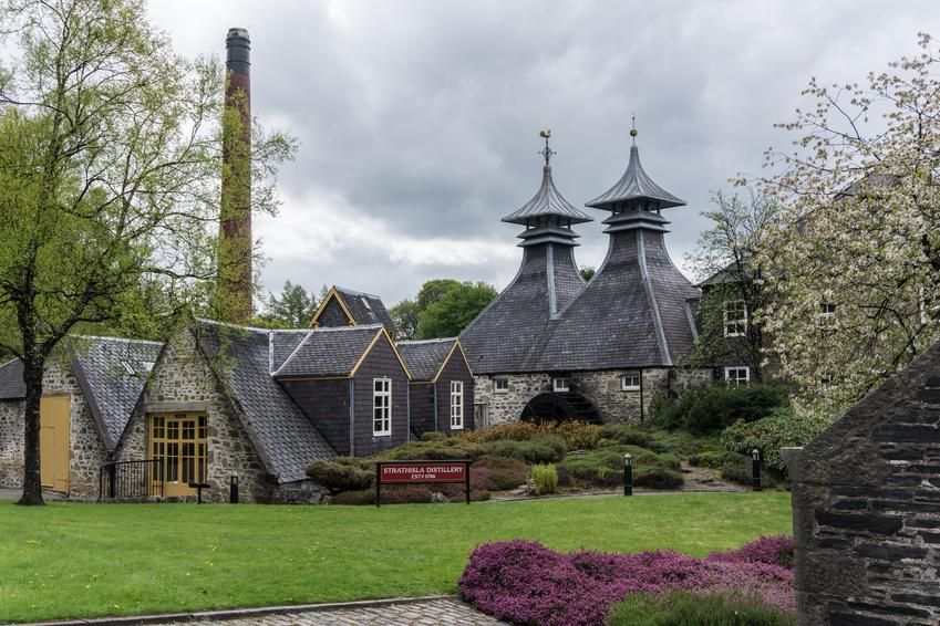 Distillerie in Speyside und Highlands