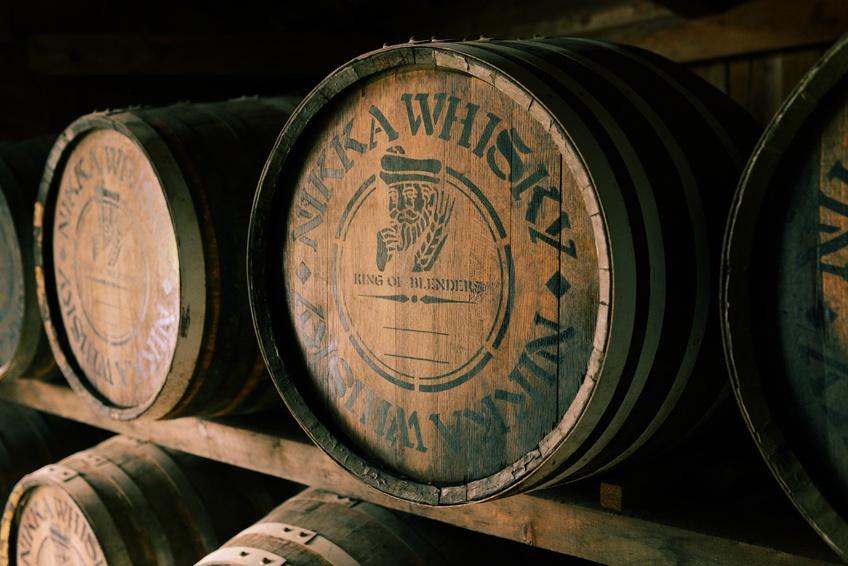 Nikka Whisky Fass