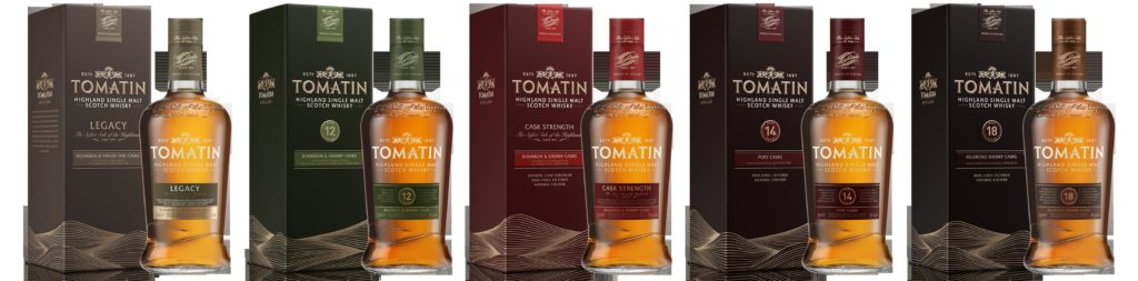 Tomatin Whisky Range