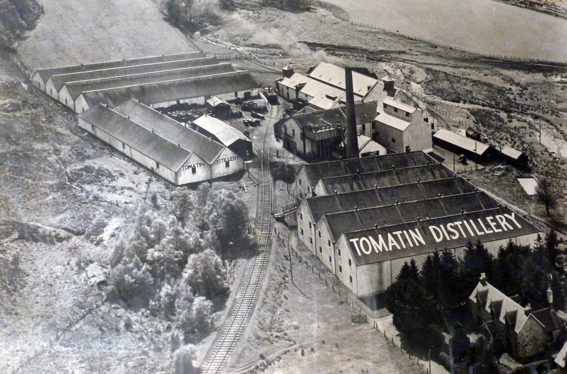 Tomatin - Die alte Destillerie