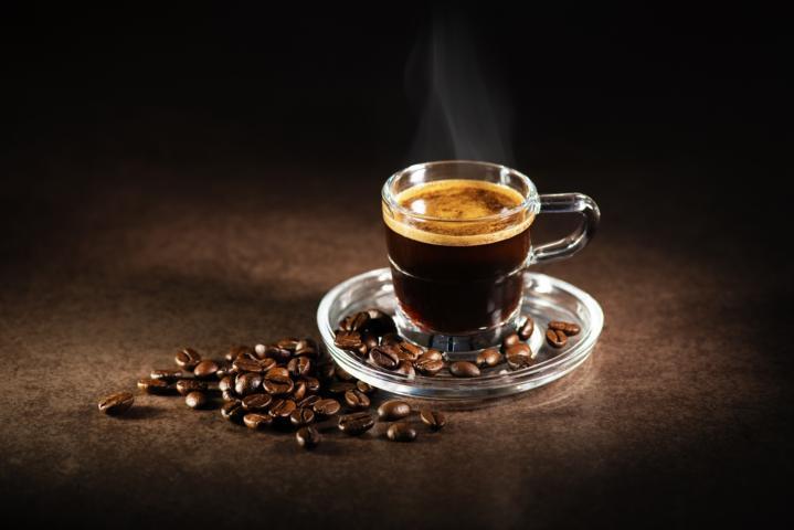 Kaffee mit Grappa