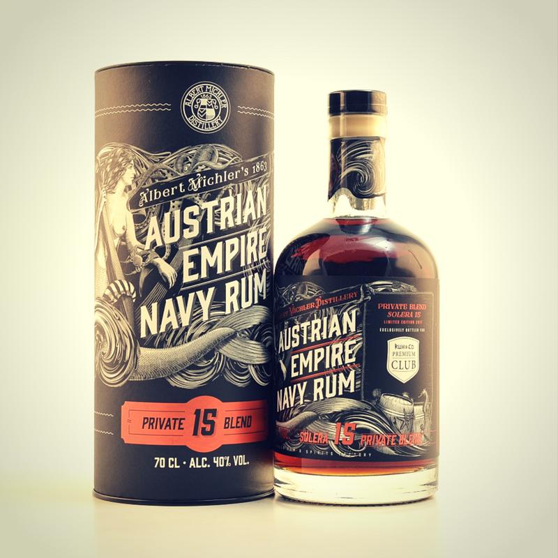 Austrian Empire Navy Rum 15 Jahre
