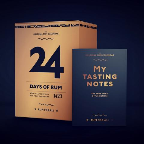 24 Tage Rum - der Original Rum-Adventskalender