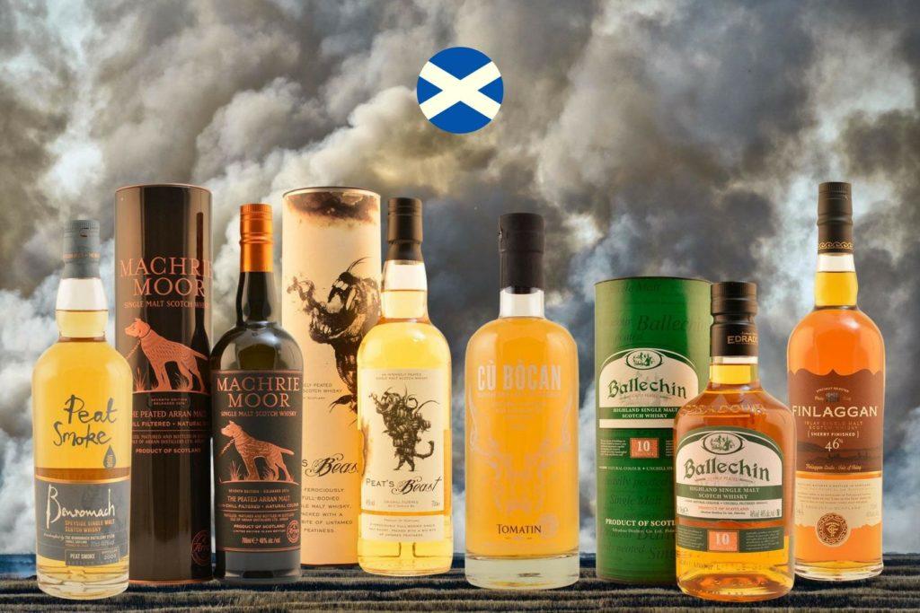 Tastingset Whiskyreise Schottland
