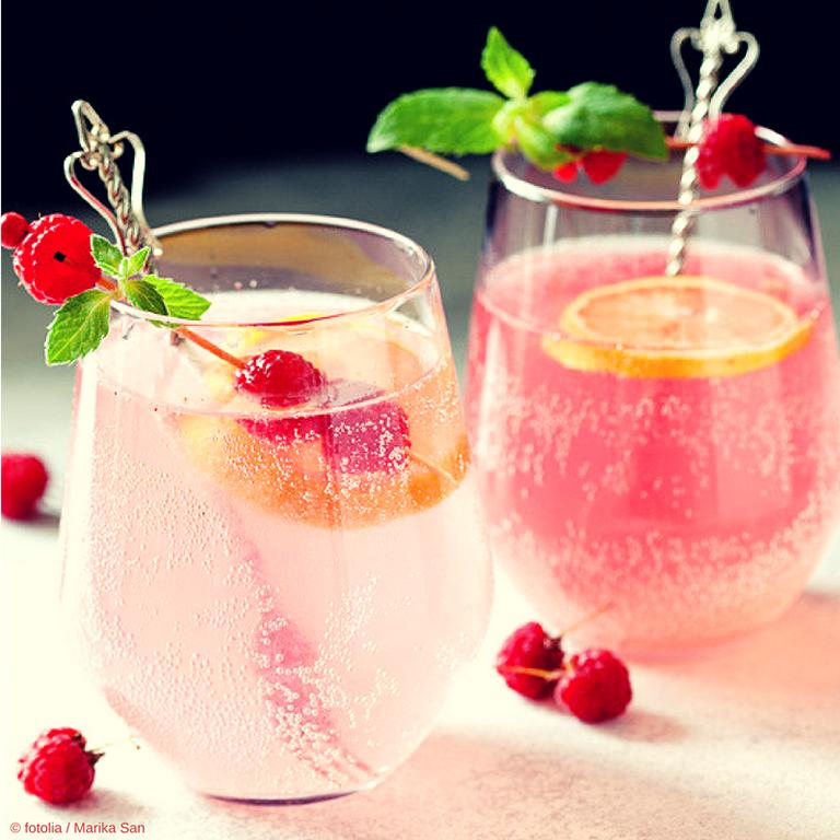Pink und Rosé Gin - ein Trendgetränk 2018 | Schnapsblatt