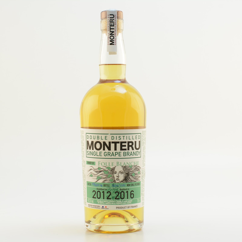 Monteru folle blanche french single grape brandy