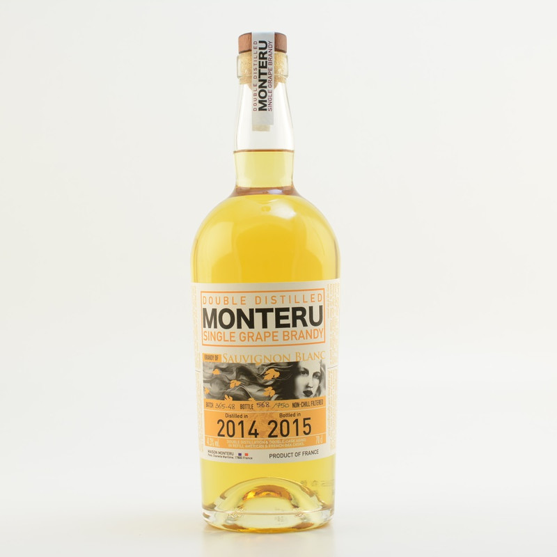 Monteru sauvignon blanc french single grape brandy