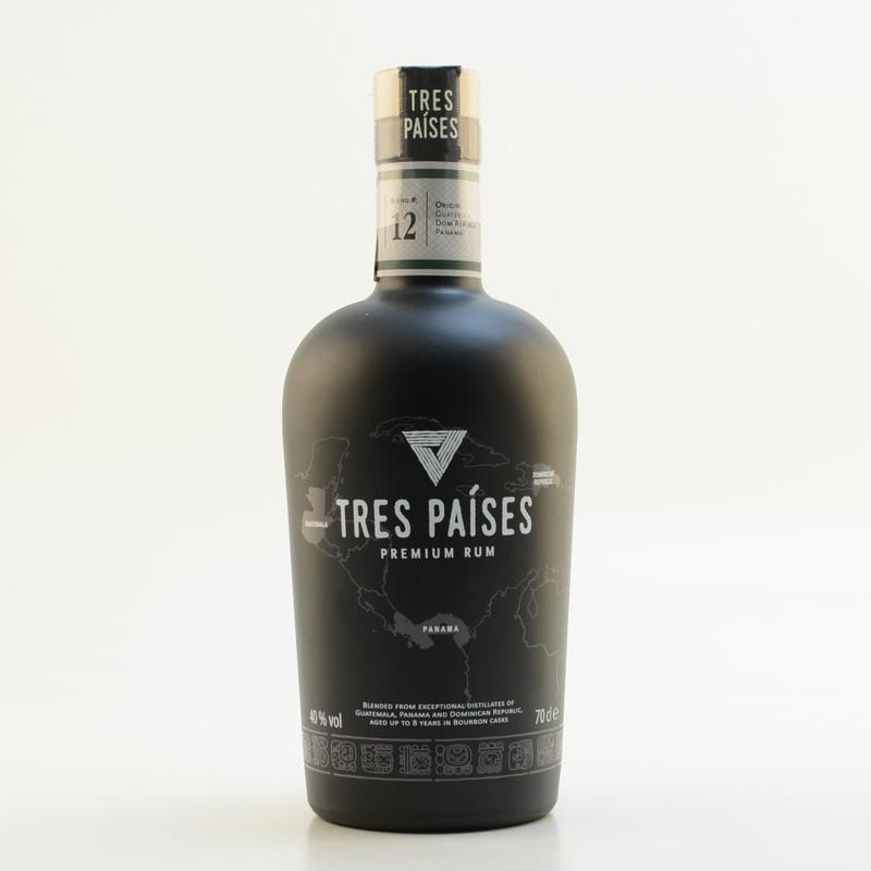 Tres Paises Premium Rum 40% 0,7l