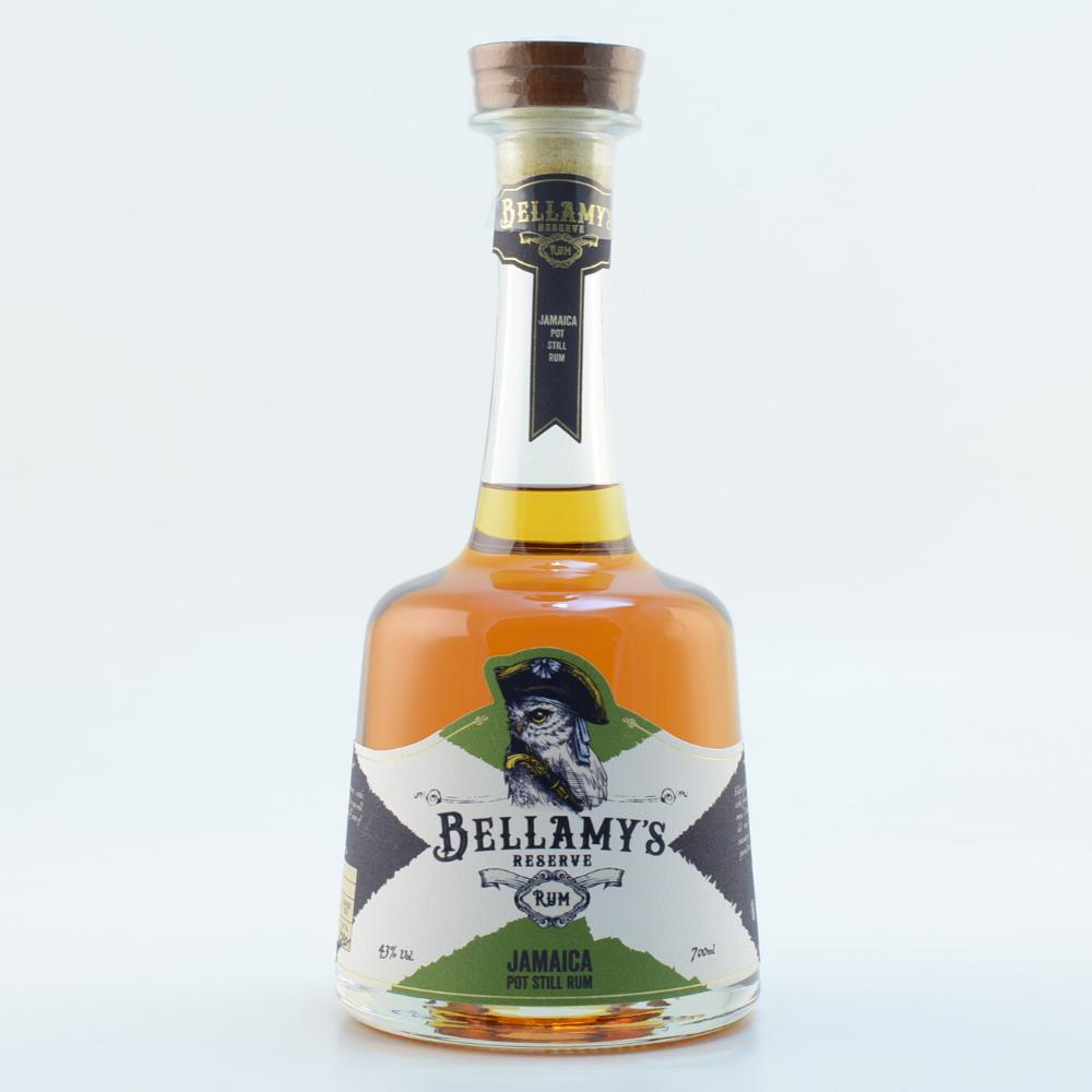 Bellamys Reserve Rum Jamaica double-aged in Rum Casks