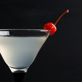 Gin-Cocktail in Martini Glas
