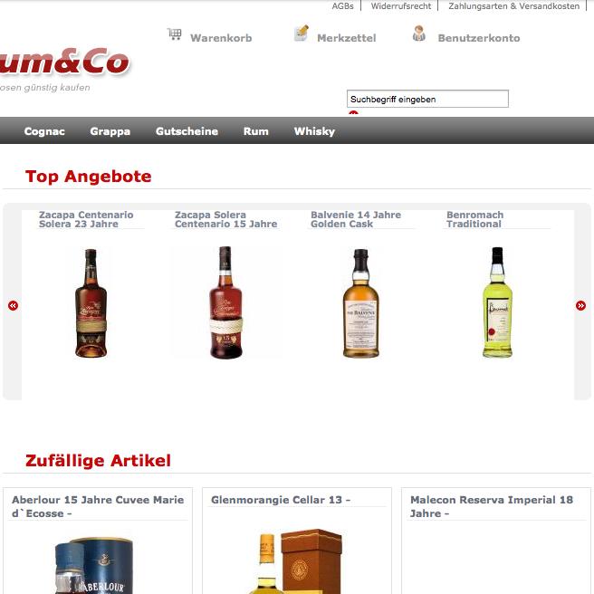 Rum & Co 2009