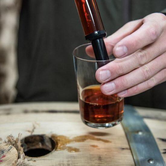 Whisky abfüllen