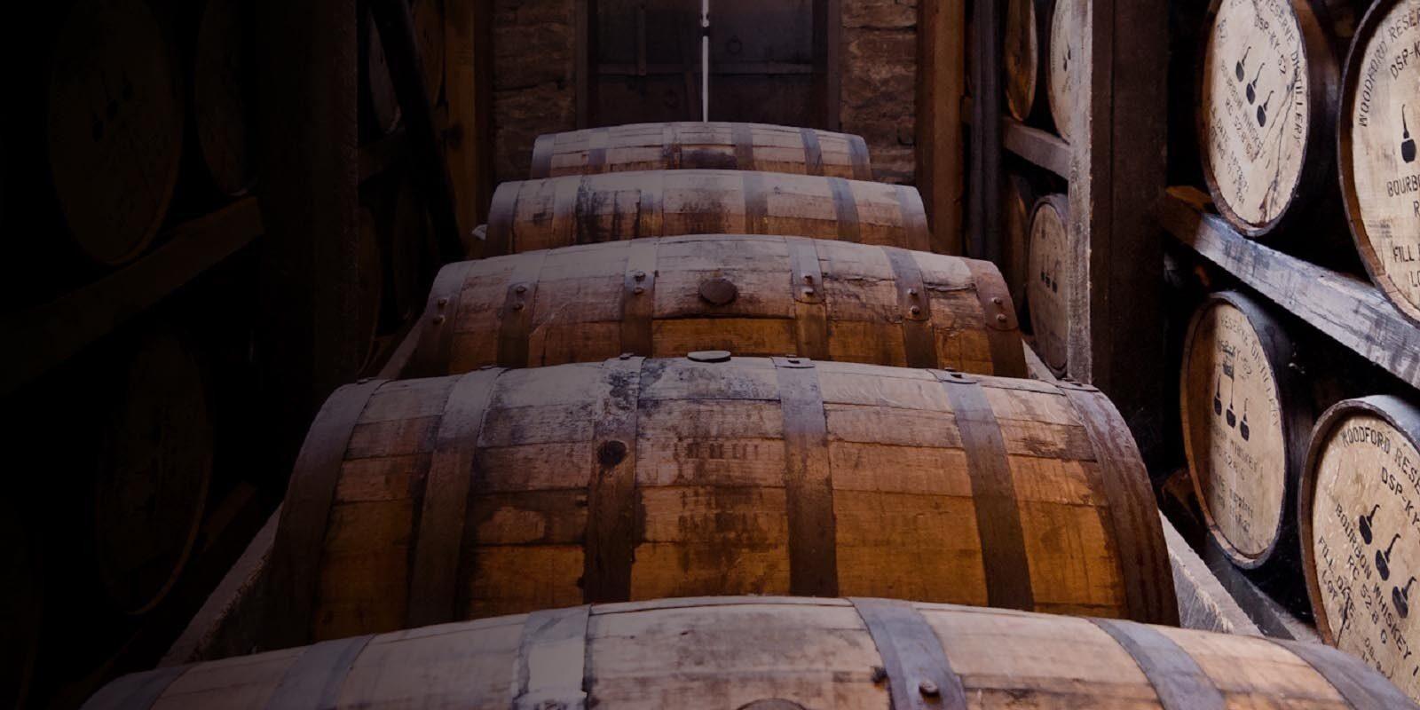 Whisky Fässer
