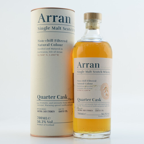Arran Malt The Bothy Quarter Cask Whisky 56,2% 0,7l