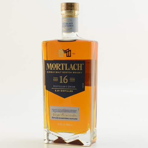 Mortlach 16 Jahre Speyside Whisky 43,4% 0,7l