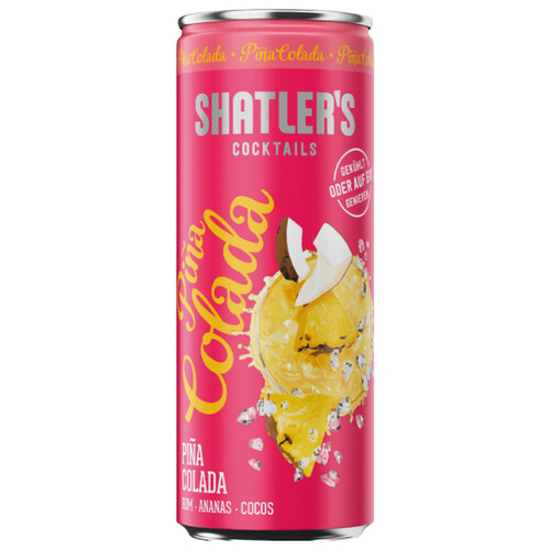 Shatlers Pina Colada Cocktail 12,1% 0,2l