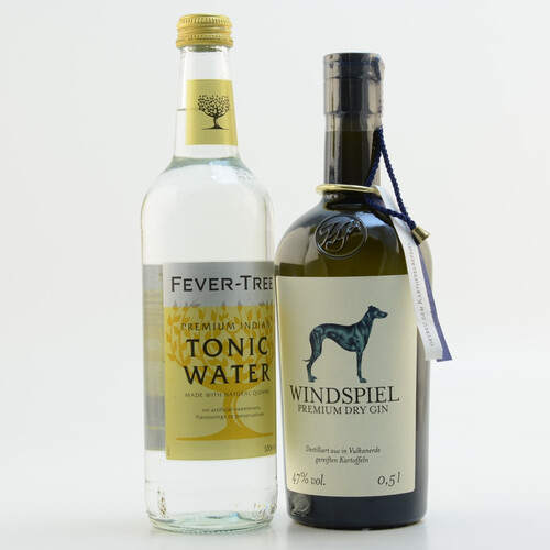 Windspiel Premium Dry Gin & Fever Tree Indian Tonic Set