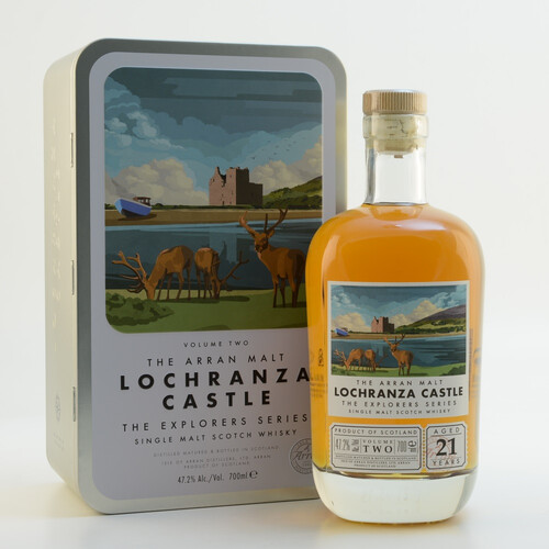 Arran Malt Lochranza Castle Explorers Series 47,2% 0,7l