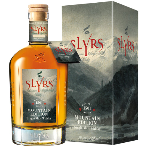 Slyrs Bavarian Mountain Edition Whisky 45% 0,7l