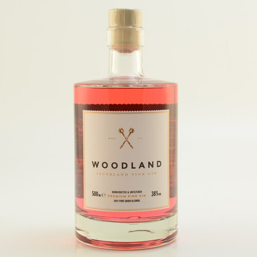 Woodland Pink Gin 38% 0,5l