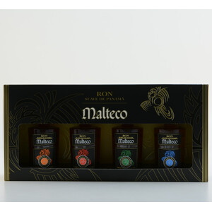 Ron Malteco Rum MINI Set 40% 4x 0,05l