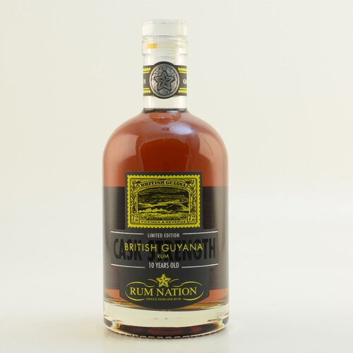 Rum Nation British Guyana Rum 10 Jahre 56,4% 0,7l