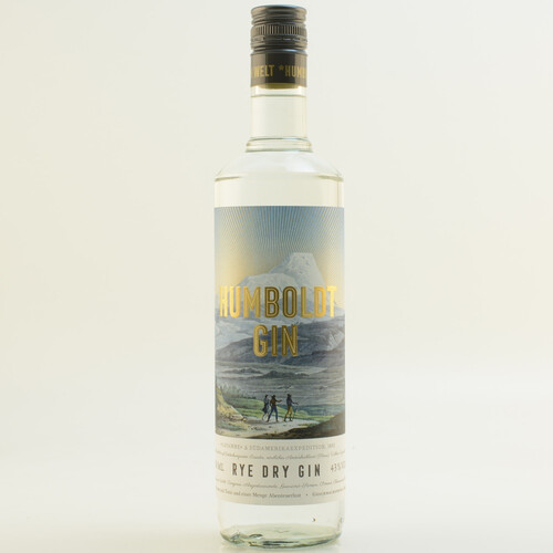 Spreewood Distillers Humboldt Rye Dry Gin 43% 0,7l