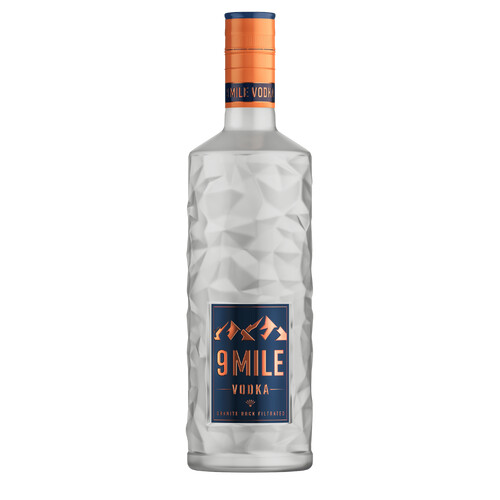 9 Mile Vodka 37,5% 0,7l + gratis Effect Energy 0,33l