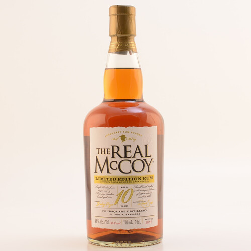 The Real McCoy Rum 10 Jahre - Limited Edition Virgin Oak 46% 0,7l