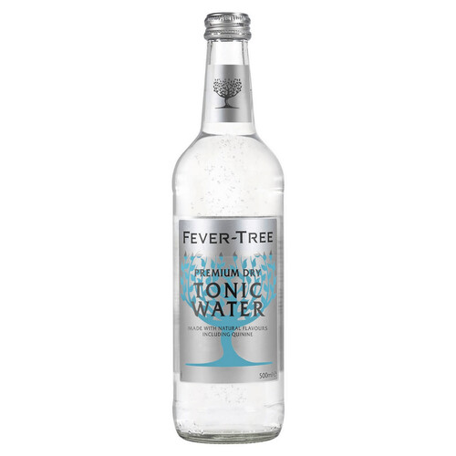 Fever Tree Premium Dry Tonic Water 0,5l (kein Alkohol)