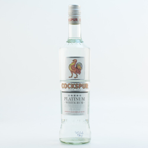 Cockspur Platinum White Rum 40% 0,7l