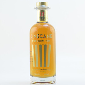 CINECANE Gold Popcorn infused Rum Spirit 41,2% 0,5l
