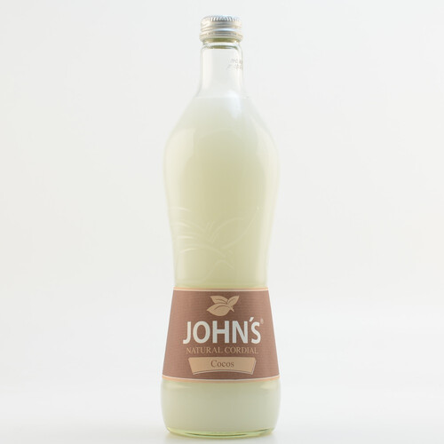 John´s Natural Cordial Cocos (kein Alkohol) 0,7l