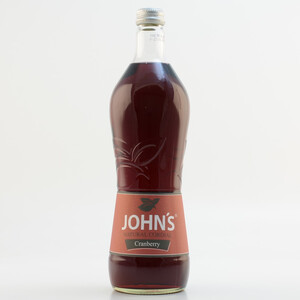 John´s Natural Cordial Cranberry (kein Alkohol) 0,7l