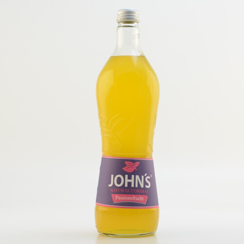 John´s Natural Cordial Passionsfrucht (kein Alkohol) 0,7l