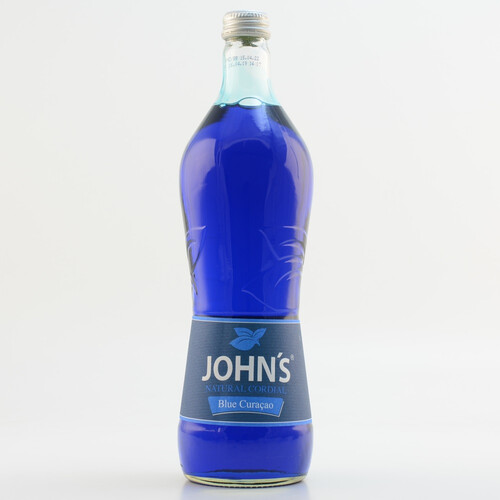 John´s Natural Cordial Blue Curacao (kein Alkohol) 0,7l