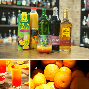 Tequila Cocktail: Tequila Sunrise - Klassiker für die Bar!