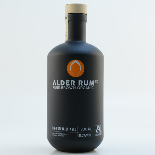 Alder Rum Pure Brown Organic Bio Naturally Aged 41,5% 0,7l