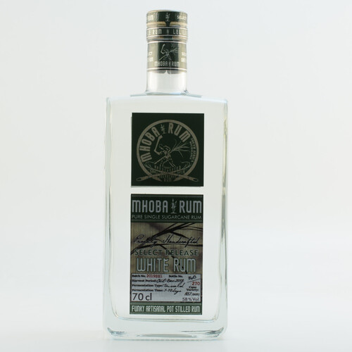 Mhoba Rum Select Release White 58% 0,7l