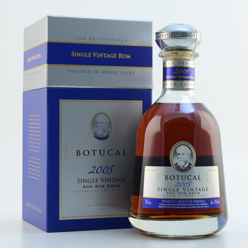 Ron Botucal 2005 Single Vintage Rum 43% 0,7l
