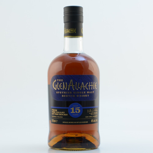 Glenallachie 15 Jahre Speyside Single Malt Whisky 46% 0,7l