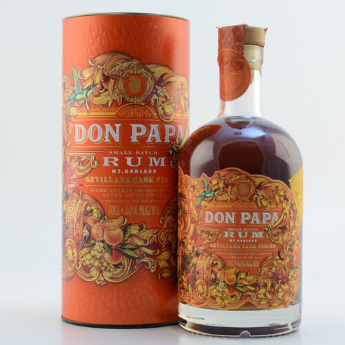 Don Papa Rum Sevilliana Cask 40% 0,7l