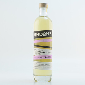 "Undone ""This is not Vermouth"" Italian Apteritif Type alkoholfrei 0% 0,7l"